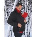 Couverture - capuche en laine polaire