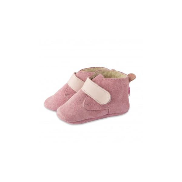 Symbioza - chaussons en cuir souple Shooshoos 4da898b36ce