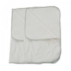 Pack de 2 inserts spécial nuit coton/bambou Applecheeks