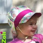 chapeau soleil zoli - pissenlit lavande