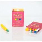 Boîte de 12 Craies Colorées et 1 Porte-craies magnétique Jaq Jaq Bird