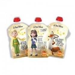 Pack de 3 Gourdes Squiz Petit Prince