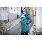 Veste d'hiver de portage bleue Angel wings