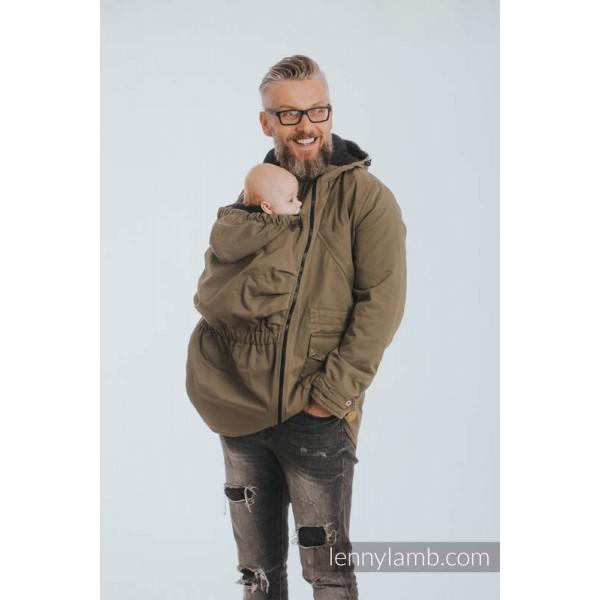Symbioza - manteau de portage mixte lennylamb 545688c592b