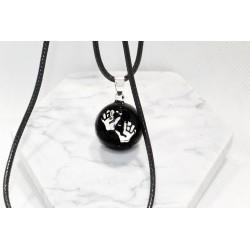 Bolas cordon cuir - Irréversible bijoux