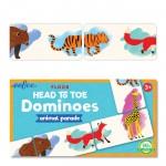 Dominos - La parade des animaux - Eeboo