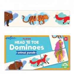 Dominos - La parade des animaux - Eeboo