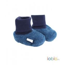 Chaussons en polaire de laine Iobio