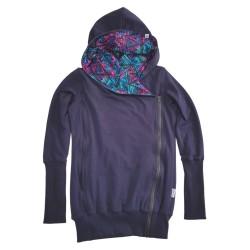 Sweatshirt de portage 5 en 1 - GREYSE - Blue Azteca