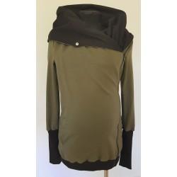 Sweatshirt de portage 5 en 1 - GREYSE - kaki