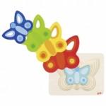 Puzzle à couches - Papillons - Goki