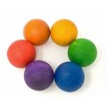 6 balles colorées - Grapat