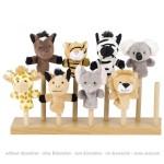Animaux sauvages - marionnettes à doigt - Goki