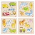 Puzzle à encastrement - goki