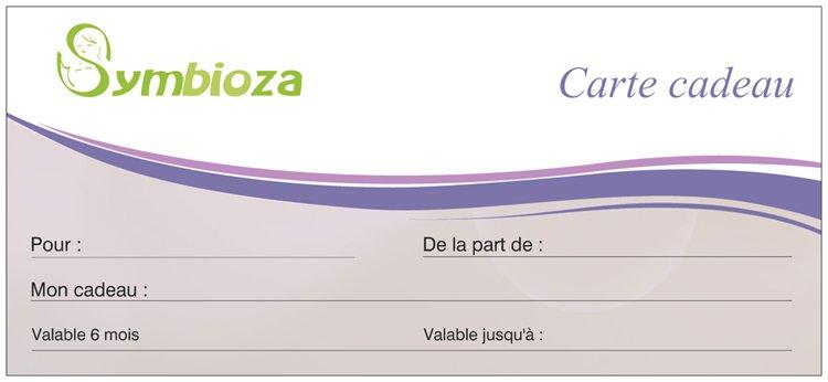 Carte cadeau symbioza - Idéale pour gâter vos proches !